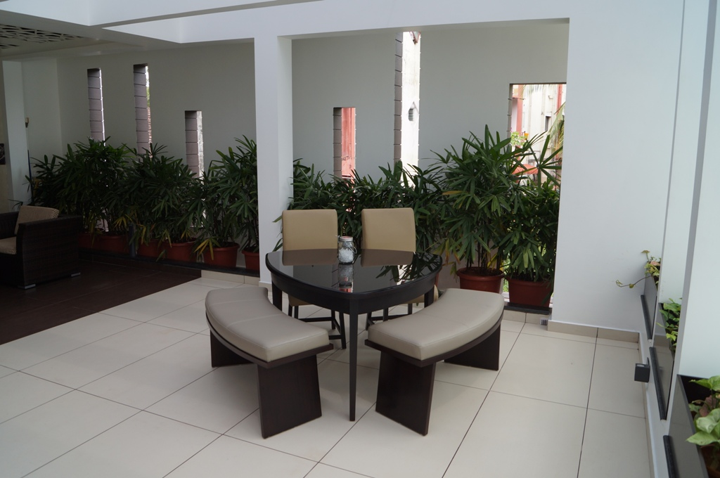 15. Terrace Seating
